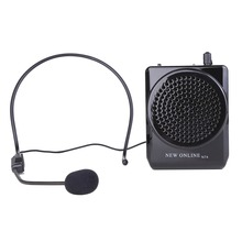 NEW ONLINE N74 Portable 20W Loudspeaker With Microphone Voice Amplifier for Teaching Guiding Speaker Propaganda Megaphone