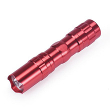 MUQGEW 2017 High quality exclusive hand touch 3W LED New Hot Mini Handy Flashlight Torch Light Lamp For Sporting Camping(China)