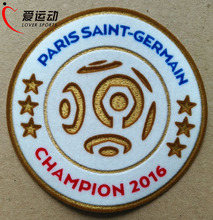 Official patch PSG CHAMPIONS 2016 FOOTBALL PATCH PSG LIGUE 1 SOCCER PATCH