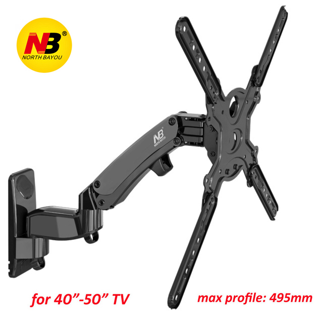 NB-F450-TV-Wall-Mount-40-50-inch-Monitor-Holder-Gas-Spring-Free-Lifting-Swivel-Stretchable