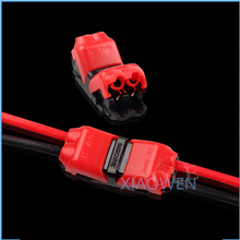 5PCS 2p Spring Connector wire with no welding no screws Quick Connector cable clamp Terminal Block 2 Way Easy Fit for led strip