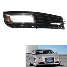 Car Lower Bumper Fog Light Lamp Grill Right Grille for Audi A8 D3 08-10(China)