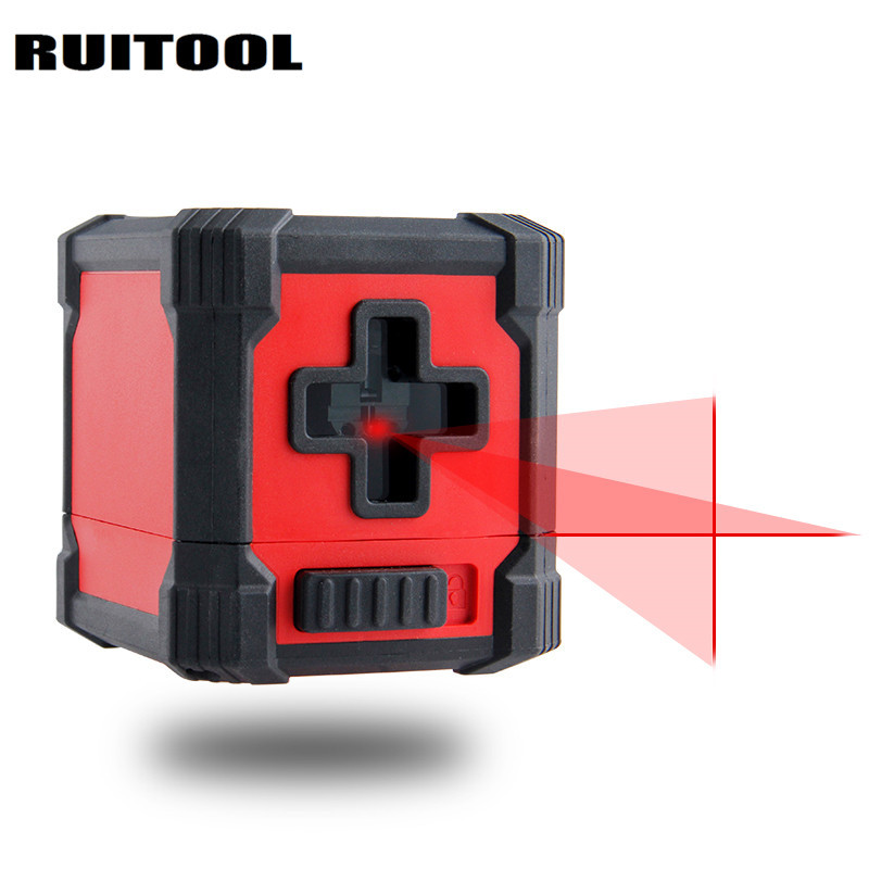 RUITOOL Mini Laser Level Horizon Vertical Laser Line Self Leveling Cross Line Laser Construction Tools <br>