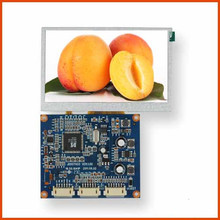 4.3 inch TFT 480x272 screen LCD module Support VGA, Video signal input with Driver board display