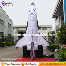 Free Delivery 5 Meters high giant inflatable space shuttle replica advertising type blow up plane model for decoration toys(China)