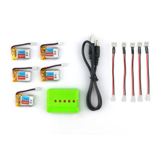 Newest 5PCS Eachine E010 3.7V 150mAh Battery RC Quadcopter Spares Parts For RC Model Toys Accessories