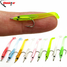 SHUNMIER 120pcs 0.3g 35mm Eel Soft Baits Pesca Fishing Lure Peche Tackle Wobblers Fish Lures Carp Leurre Souple Isca Artificial(China)