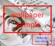 sample/custom photo wallpaper mural/non-woven room wallpaper sample/world send sample/first look at the kind/rest assured to buy(China)