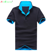 New 2016 Men's Brand Polo Shirt For Men Designer Polos Men Cotton Short Sleeve Tops casual jerseys tennis Free Shipping(China)