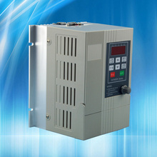 220V ac inverter 2.2KW cnc spindle motor VFD speed controller 1 phase input 3 phase output 220v  engraving machine router