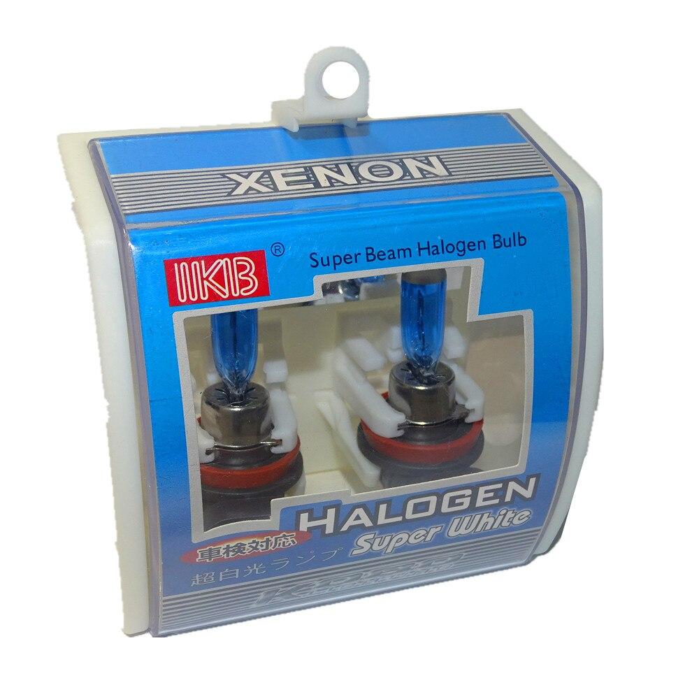 2 x 881 Halogen Headlight 6000K Super White DC 12V Light Bulbs 55W