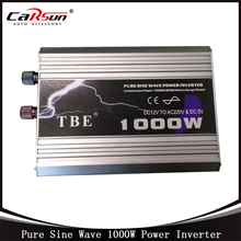 DC12V to AC220V 1000W Pure Sine Wave Car Power Inverter Grid Tie Solar Inverter Power Inverter For Solar and Wind Hybrid