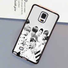 BTS Bangtan Boys Music Band Soft Rubber Phone Cases For Samsung S4 S5 S6 S7 edge plus Note 2 Note 3 Note 4 Note 5 Note 7 Cover