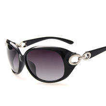 New Cross Hinge Design Classic Knot Alloy Temple Women Sunglasses Polarized Lens Outdoor Goggle Driving Glasses Oculos De Sol