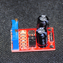 NE555 Pulse Frequency Module Duty Cycle Adjustable Square Wave Signal Generator Electronic DIY Kits Module Stepper Motor Driver