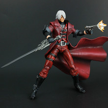 Original  7inch Devil May Cry Magic Man Nero Dante Action Figure for Collection Gift
