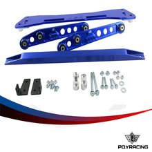 PQY RACING- ASR SUBFRAME FOR 92-95 Civic 93-97 del Sol + EG Rear Lower Control Arm + 92-95 Tie Bar HQ Anodized 6Color For choose(China)