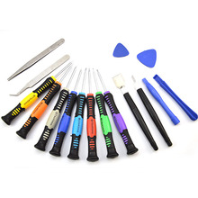16 in1 Kit New Design Cellphone Opening Multi Function Repair Tools Screwdrivers With T6 T5 Screw Free Shipping