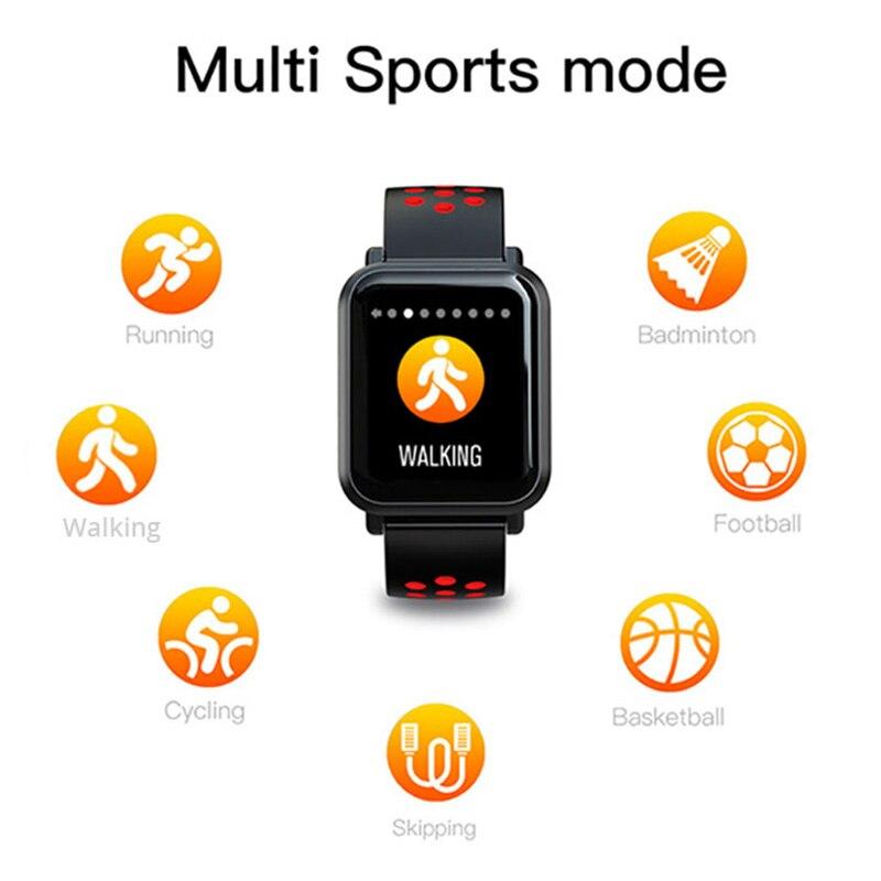COLMI Smart Watch Men Tempered glass Fitness Tracker Blood pressure IP68 Waterproof Activity Tracker Women Smartwatch 13