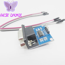MAX3232 MAX232 RS232 To TTL Serial communication converter Module 5V/3.3V+Jump Cables