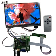 8.2 inch 1280*800 IPS LCD Screen Monitor Display DIY Kit Raspberry Pi 3 HDMI VGA AV For Xbox PS4 Zero Car Auto Backing Priority(China)