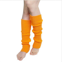 1 Pair Fashion Leg Warmers Stretch Fabric Winter Woman Warm Leg Warmers Knitting Leg Warmers Socks Boot Cuffs