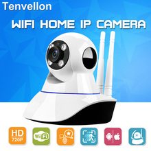 WIFI IP Surveillance Camera HD 720P Wireless Mini CCTV Camera Baby Monitor Security P/T P2P Micro TF Card Free IOS Android APP
