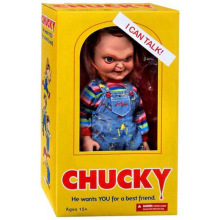 Original Juguetes Horror: Child's Play - Talking Sneering Chucky 15'' Action Figure Collectible PVC Model Toy Galloween Gifts(China)