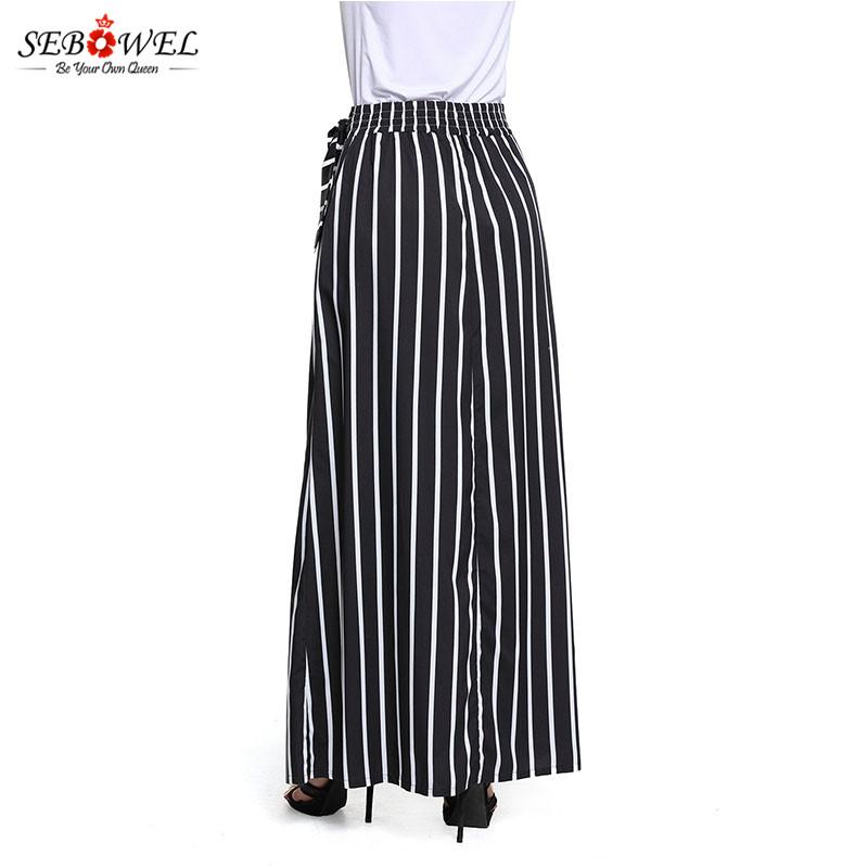 Black-Striped-Maxi-Skirt-LC65037-2-7