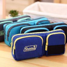 Durable Pencil Case Pen Pouch Bag Case School Supplies Papelaria Pencilcase Pens Box Stationery Organizer For Boys Girls