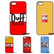Awesome Duff Beer pattern Print Hard Phone Cover For iPhone 4 4S 5 5C SE 6 6S 7 Plus Samung Galaxy J5 J3 J7 A5 A3 S7 S6 Edge