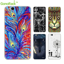 "GonoRack Pattern Case For ZTE Blade S6 Case Soft TPU Cases Cover For ZTE Blade S6 Q5 5.0 "" Cell Phone Case Silicone Fundas Coque(China)"