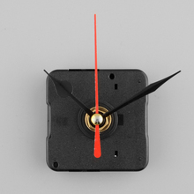 Hot sale 1Pc Red Stitch Silent Movement Quartz Clock Movement Mechanism Repair without Hook