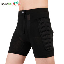 WOSAWE Unisex Ski Snowboard Skating Skateboard Protective Gear Hip Butt Pad Extreme Sports MTB Bike Protection Armor Shorts