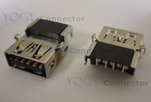 10pcs Laptop Motherboard Common Female USB 3.0 Jack Connector fit for DELL XPS 13 L321X Inspiron 11-3000 3137 3135 Series