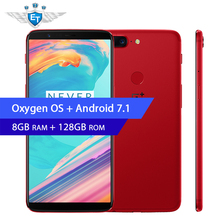 "Oneplus 5T 128GB Snapdragon 835 18:9 Full Screen Smartphone 8GB RAM 6.01"" AMOLED 4G NFC Fast Charge Android Phone Dual Camera(China)"