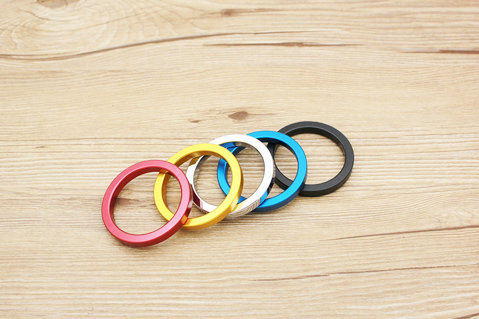 QRTA multiple Colour Space aluminum Penis Rings Cock Ring Adult Products Delay Male Masturbation Health Fun Happy Sex Toys 6