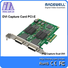 Brand New Two Channel HD Video Capture DVI Input Magewell Pro Capture Dual DVI PCIe 2.0 Card(China)