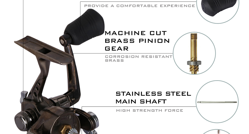 x_05 fishing spinning reel