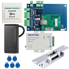 OBO HANDS DIY Full Complete Security Wiegand 26 Access Control Kit Including Strike Lock 3A Power Supply RFID Card Reader