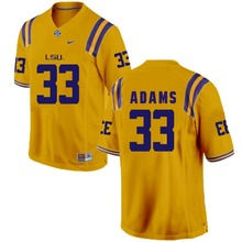 Nike 2017 LSU Jamal Adams 33 Can Customized Any Name Any Logo Boxing Jersey Jarvis Landry 80 Jerald Hawkins 65(China)