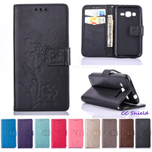 Case for Samsung Galaxy Core Prime G360F G360H/DS SM-G360F SM-G360H SM-G360H/DS Wallet card slot bracket mobile phone holster