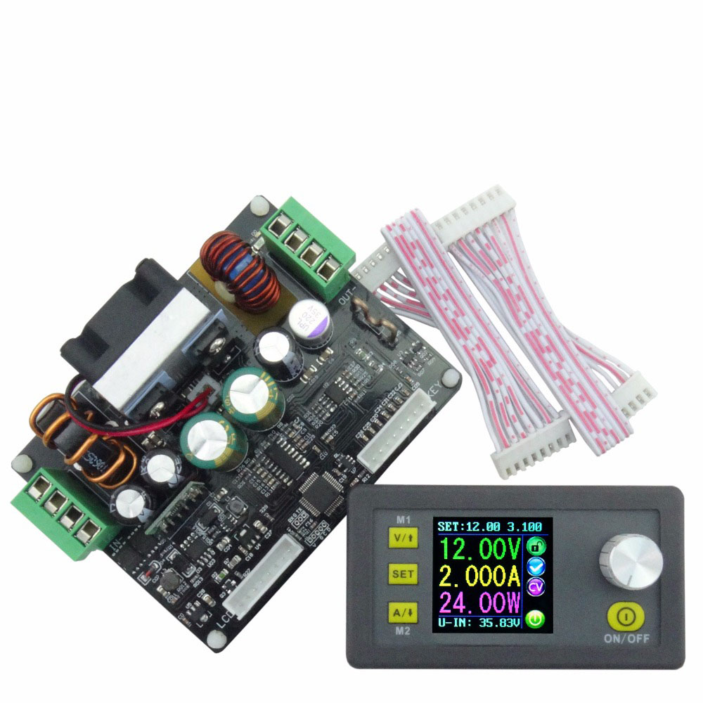 DPH3205 Buck-boost Converter Constant Voltage &amp;Current  Programmable Digital Control Power Supply Color LCD Voltmeter 160W<br>