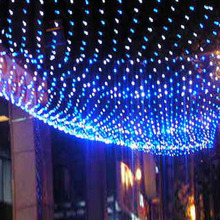 1set 1.5x1.5m 96 Leds 8 flash modes 220V net led string light Festival Christmas decoration New year wedding ceremony Waterproof