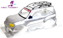 1/10 Aluminum alloy Metal Roof Rack for Tamiya CC-01 pajero 2002 rally sport without the body(China)