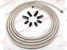 Stainless Racing Performance Automatic Transmission Cooler Line Kit BSH-66442(China)