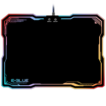 Gaming Mouse Pad EMP013 LED Lighting USB Wired Hard Dazzle  Mouse Pads Colorful Backlight Game Mice Mat with Intelligent Switch