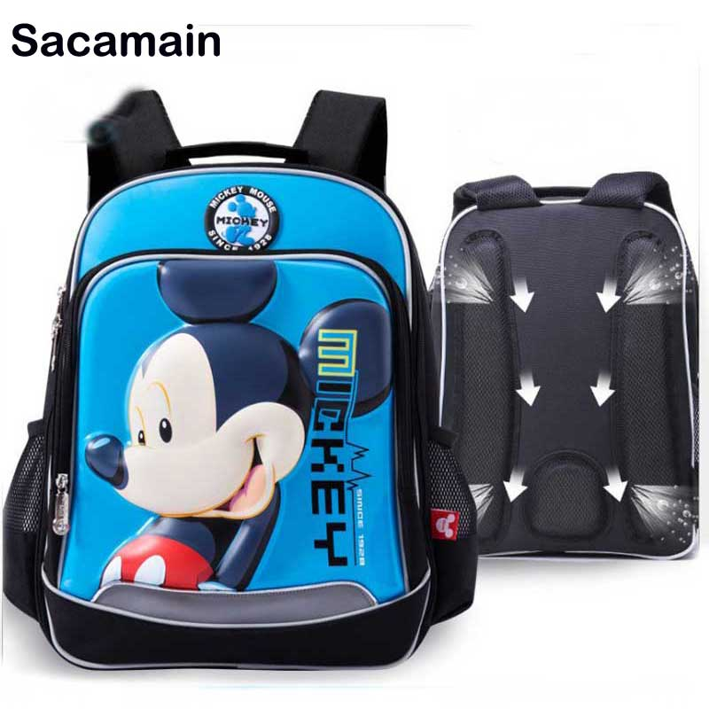 Smart Coloranimal Boys Ball Backpack Mochilas Schoolbags Cool 3d Universe Star Soccerly Ball Pattern Children Kids Shoulder Back Pack Lights & Lighting
