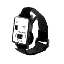 10pcs plastic Golf Club Stroke Score Keeper Count Watch Putt Shot Golf Counter with Wristband Band