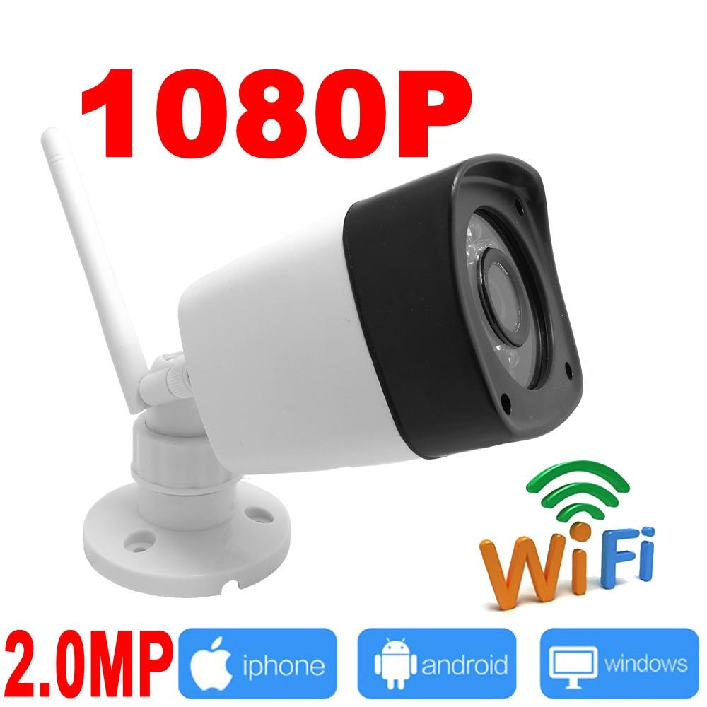 ip camera wifi 1080P outdoor cctv surveillance system wireless Waterproof security cam mini ipcam infrared home wi-fi JIENU<br>